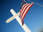 Flag with Cross