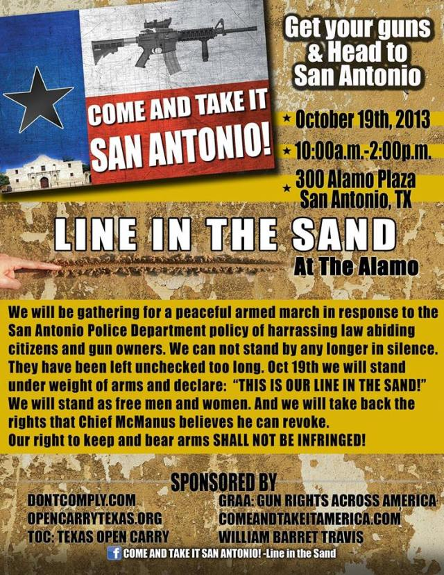 come & take it san antonio
