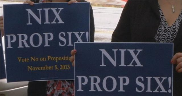 WAKE UP TEXAS... Vote NO on Prop 6