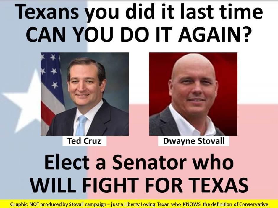 Let's make Ted Cruz the SENIOR Senator from Texas