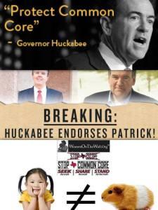 Huckabee endorse patrick